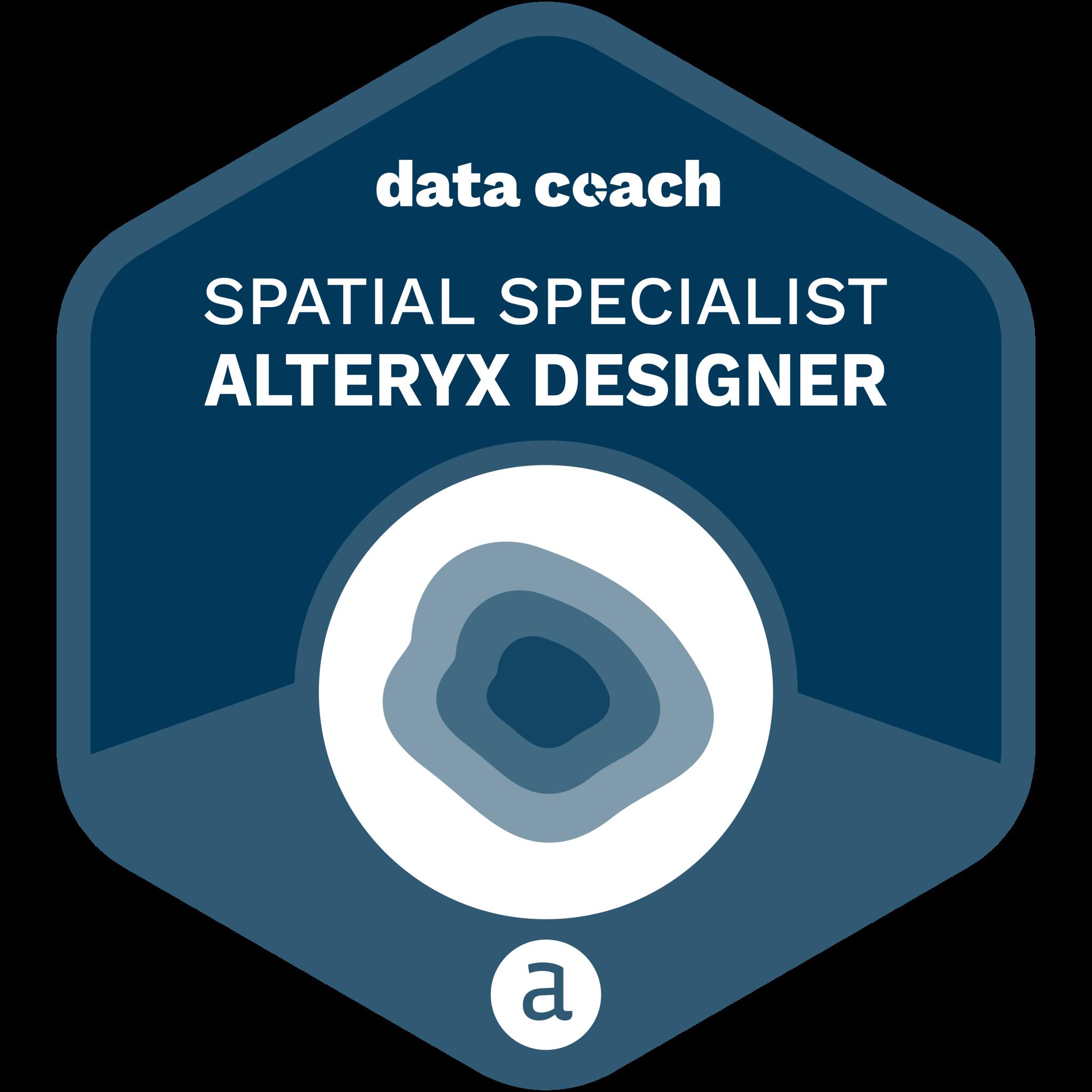 Alteryx-Designer-Spatial-Specialist